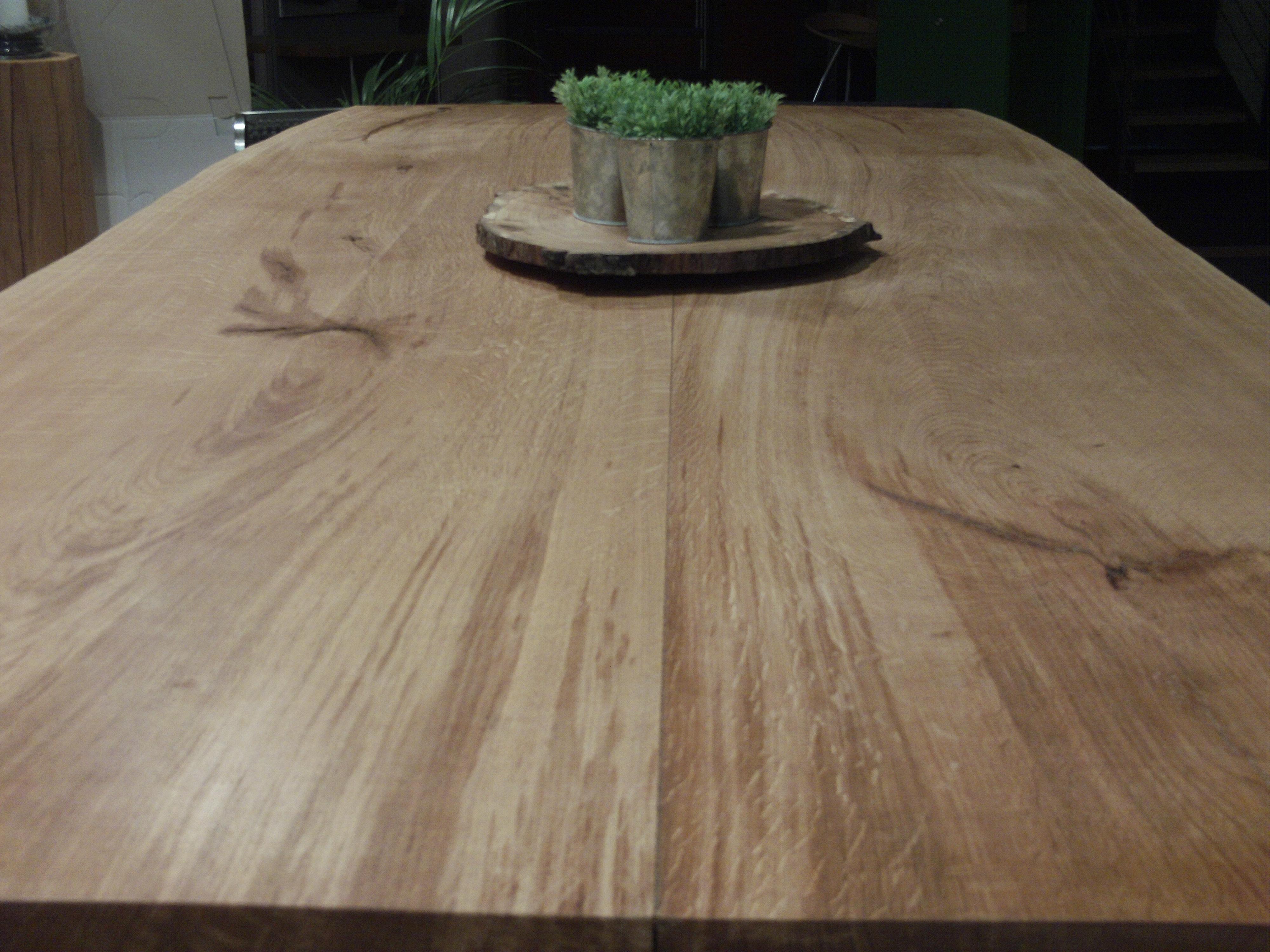 Forst Und Holz Dienstleistungen Eiche Tischplatte Tisch Massiv