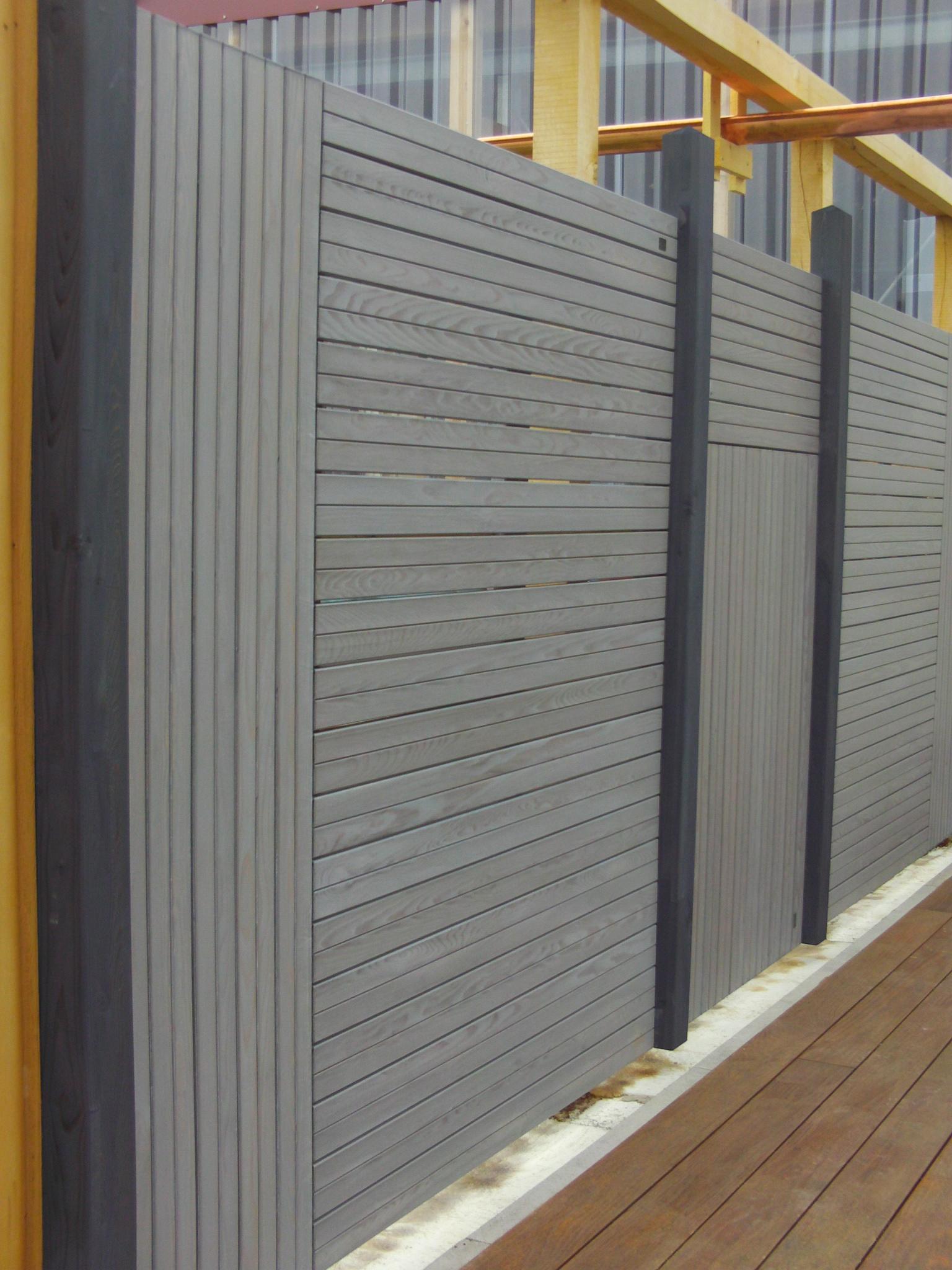 Forst Und Holz Dienstleistungen Sichtschutz Rankblende